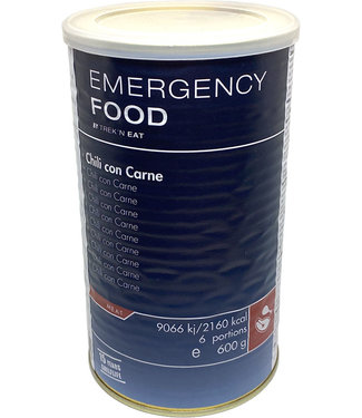 Emergency Food Chili con Carne