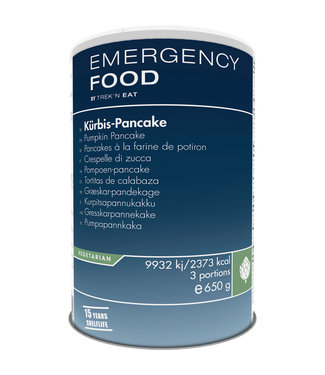Emergency Food Pumpkin pancake
