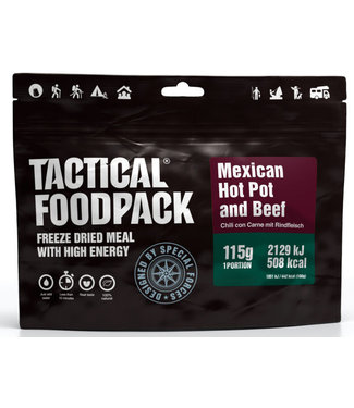 Tactical Foodpack Mexican Hot Pot and Beef