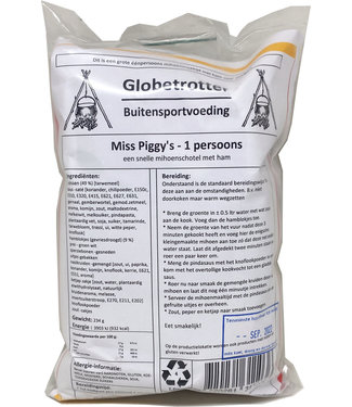 Globetrotter Miss Piggy Vlechten
