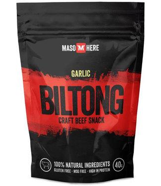 Maso Here Garlic Biltong
