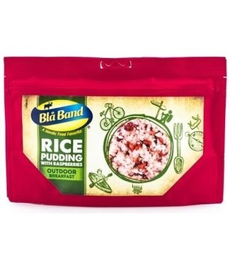 Bla Band Rice Pudding with Raspberries