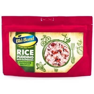 Bla Band Rice Pudding with Raspberries