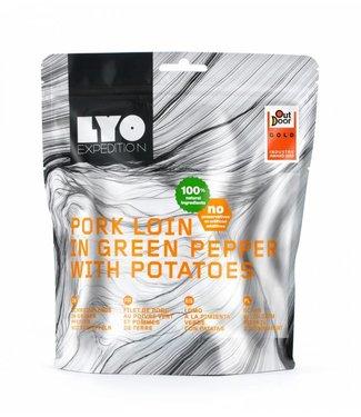 Lyo Food Pork Loin In Green Peppercorn Sauce