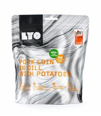 Lyo Food Pork Loin In Dill Sauce