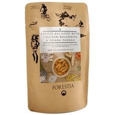 Forestia Fusili All'uovo with Chicken Bolognese and Grana Padano