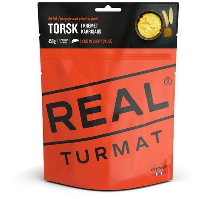 Real Turmat Cod in Creamy Curry Sauce