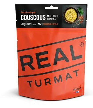 Real Turmat Couscous with Lentis and Spinach