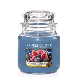 Yankee Candle Yankee Candle - Mulberry & Fig Delight Medium Jar