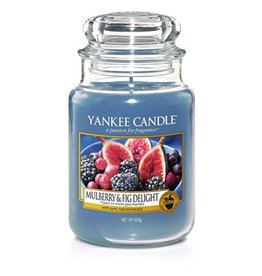 Yankee Candle Yankee Candle - Mulberry & Fig Delight Large Jar