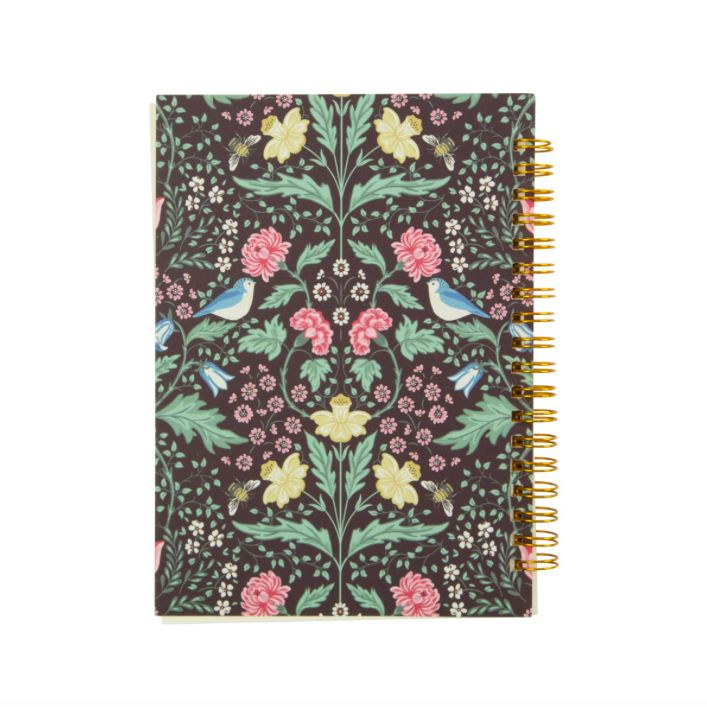 MIDNIGHT GARDEN NOTEBOOK (A5)