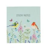 GARDEN BIRDIES STICKY NOTES SET