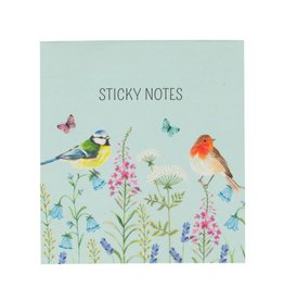 GARDEN BIRDIES STICKY NOTES SET