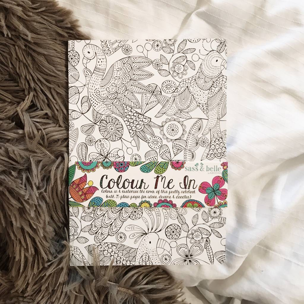 COLOUR ME IN - NOTEBOOK (A5)