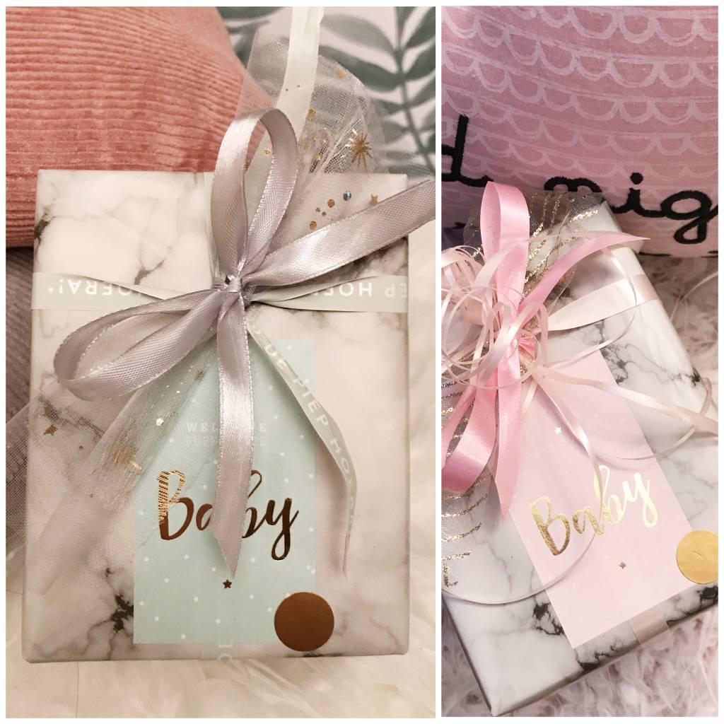 Cadeaupapier - Baby Neutraal