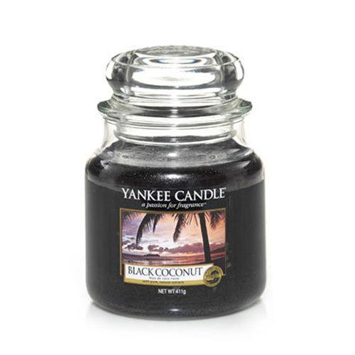 Yankee Candle - Black Coconut Medium Jar