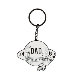 DAD YOU'RE OUT OF THIS WORLD SLEUTELHANGER