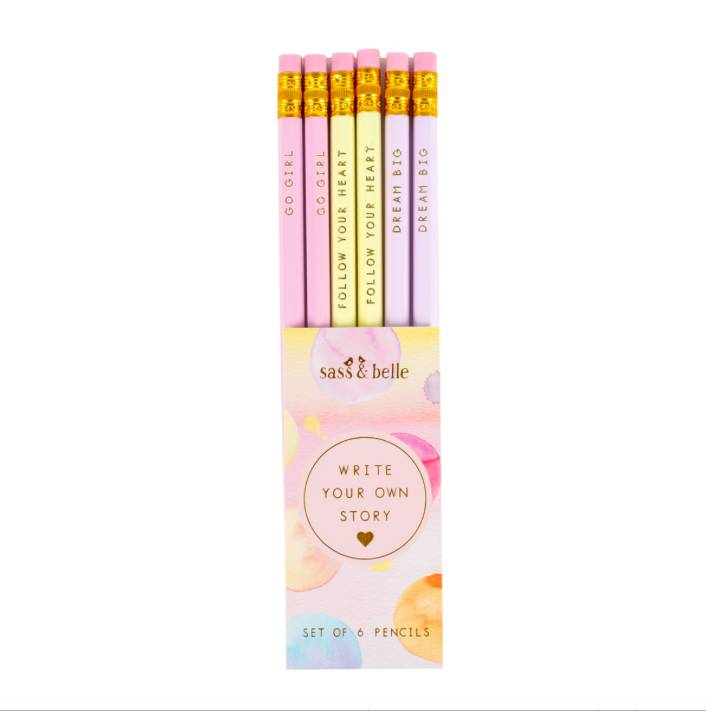 WRITE YOUR OWN STORY PENCILS