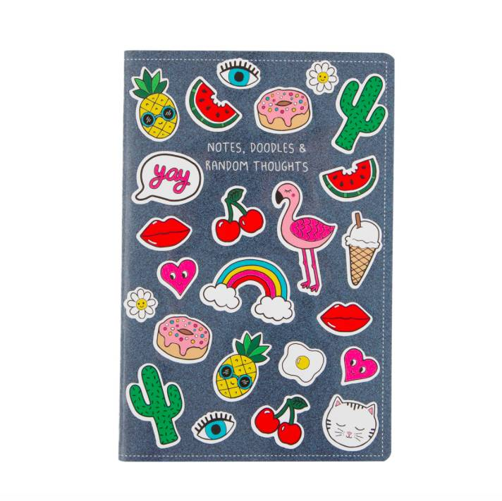 NOTEBOOK & STICKERS (A5)