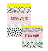 MEMPHIS - STICKY NOTES SET