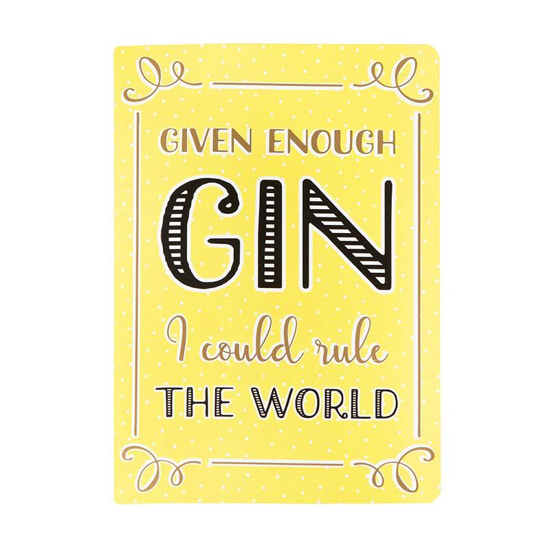 GIN - NOTEBOOK (A5)