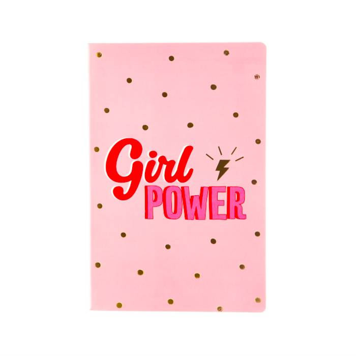 GIRL POWER - NOTEBOOK