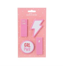 GIRL POWER - STICKY NOTES