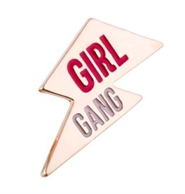 GIRL POWER - GIRL GANG PIN