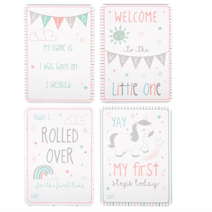 BABY MILESTONE CARDS