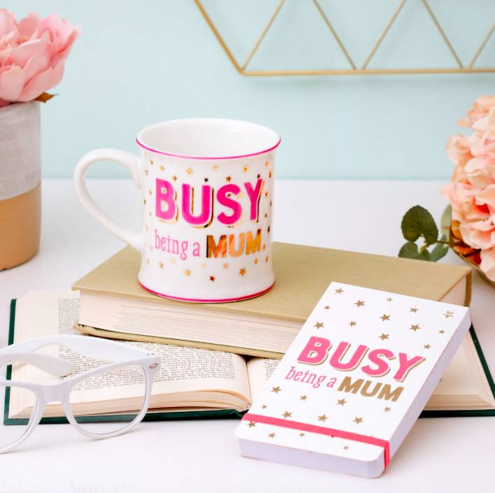 BUSY BEING A MOM - NOTEPAD