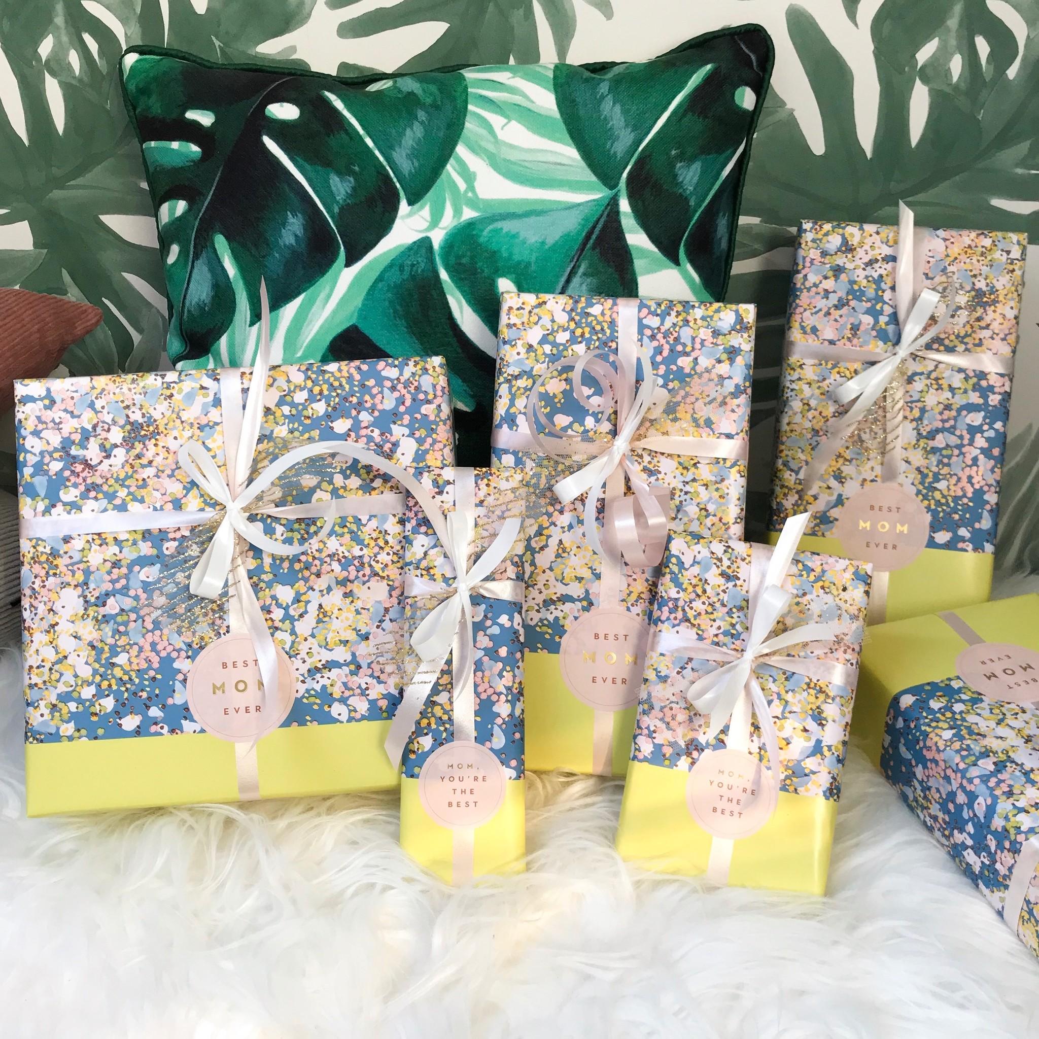 Cadeaupapier - Moederdag