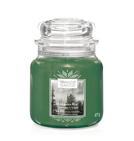 Yankee Candle - Evergreen Mist Medium Jar