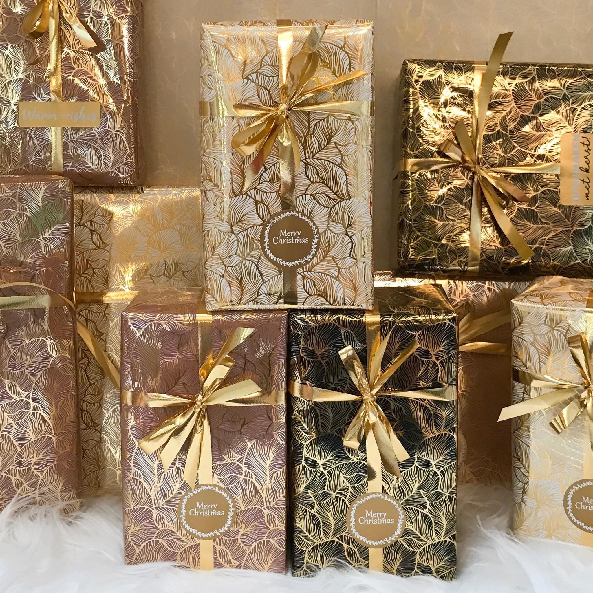 Hét Kerst Cadeaupapier 2019! (Opgelet, door drukte neemt inpakken een dag langer in beslag.)