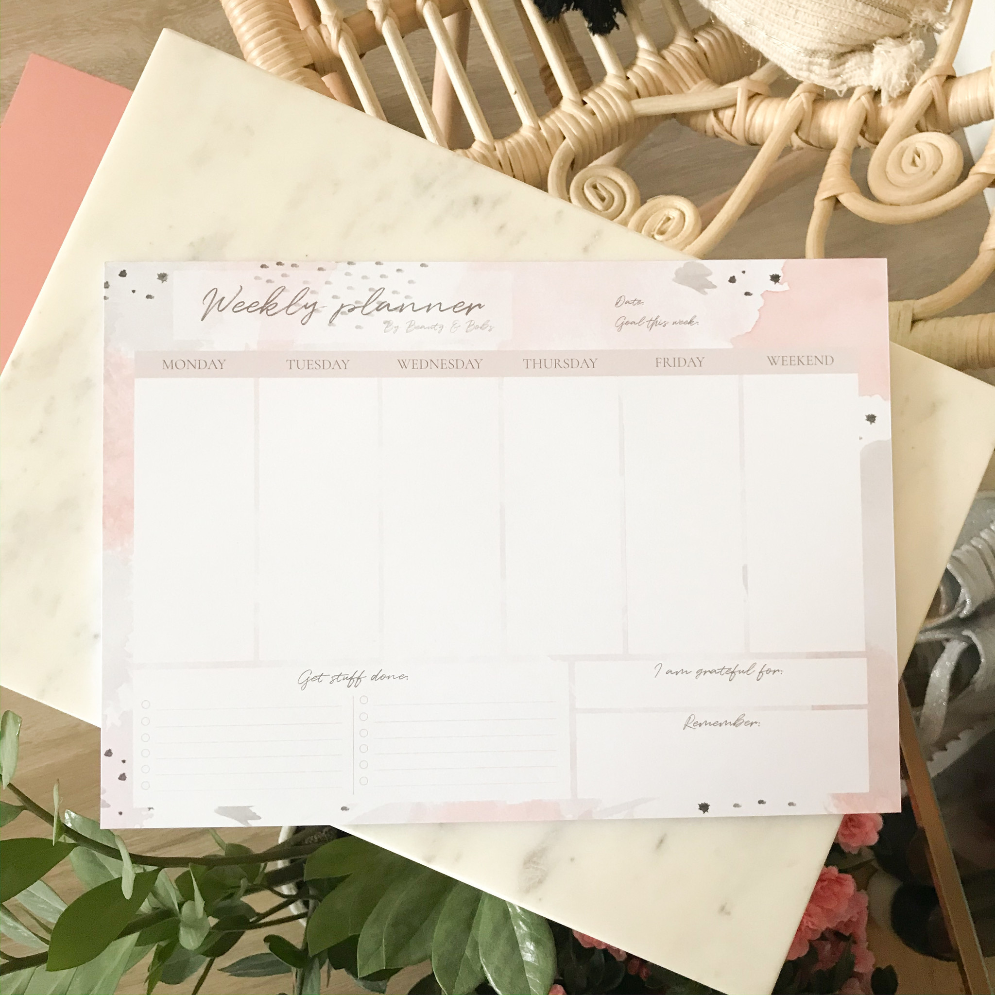 THE WEEKLY PLANNER II (A4)