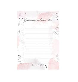 DREAM, PLAN, DO.  - TO DO LIST (A6)