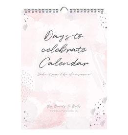 DAYS TO CELEBRATE CALENDAR (A4)