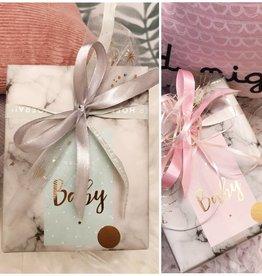 Cadeaupapier - Baby Roze (meisje)