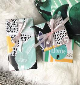 Cadeaupapier - Nieuw huis/Housewarming