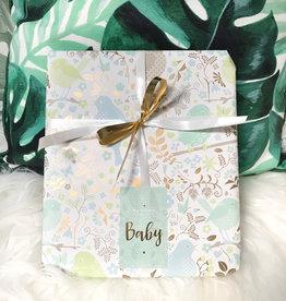 Cadeaupapier - Baby Blauw (jongen)