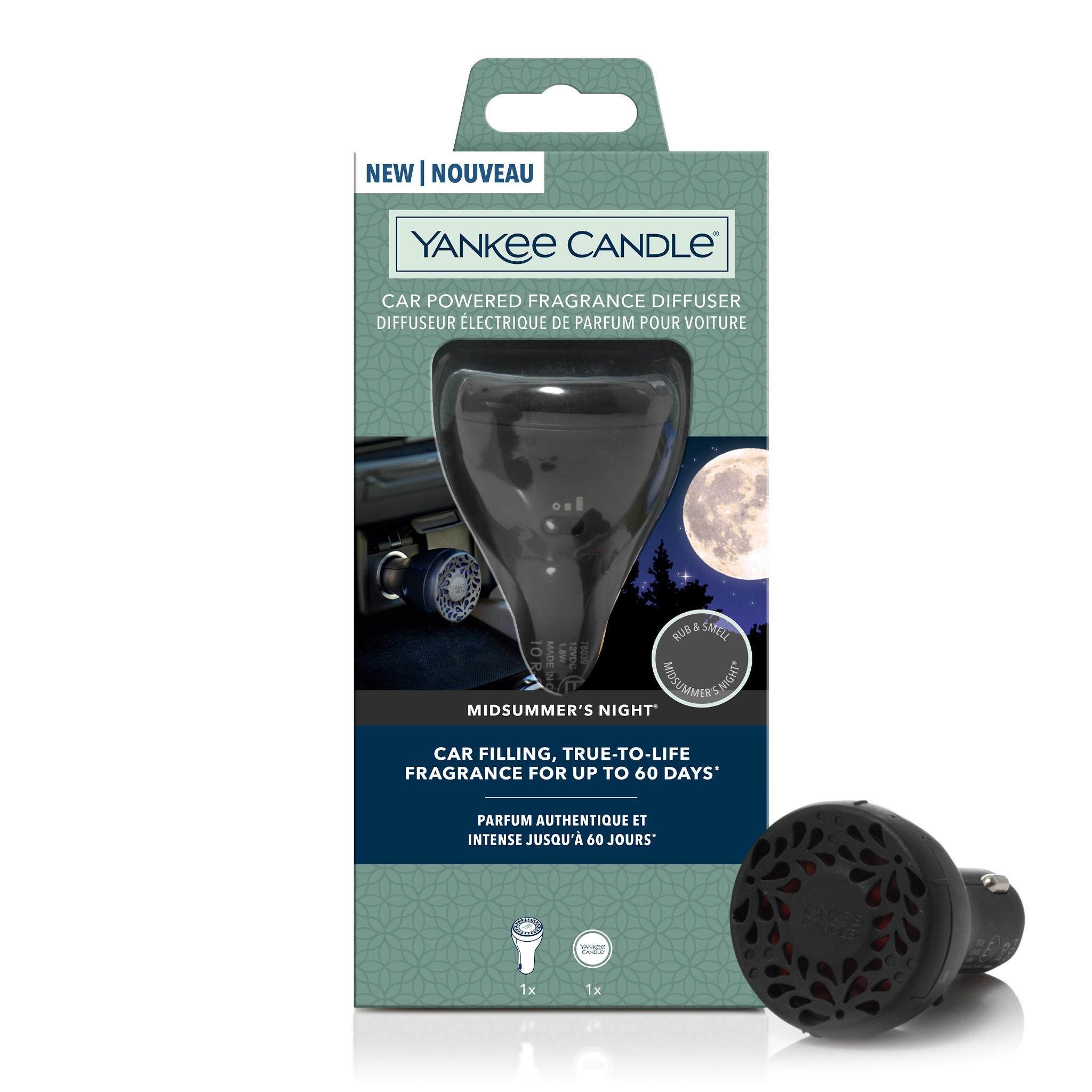 Yankee Candle - Midsummer's Night Starter Kit Car Powered Fragrance