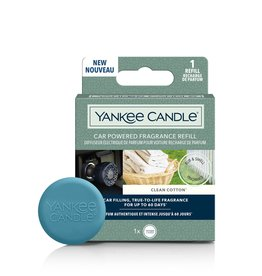 Yankee Candle - Clean Cotton  Car Powered Fragrance Refill