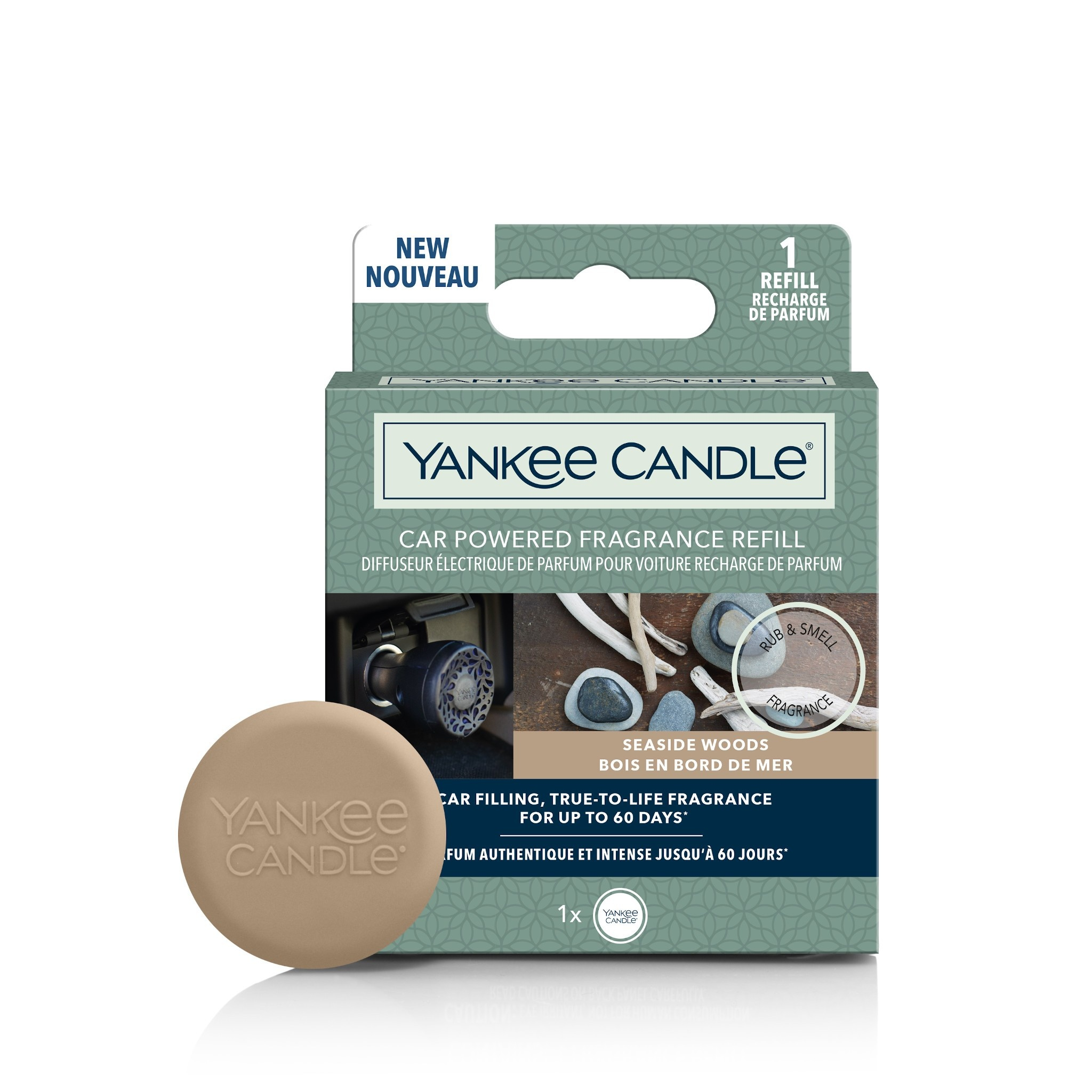 Yankee Candle - Seaside Woods Car Powered Fragrance Refill