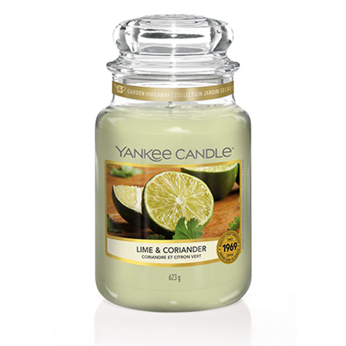 Yankee Candle - Lime & Coriander Large Jar
