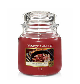 Yankee Candle - Crisp Campfire Apples Medium Jar