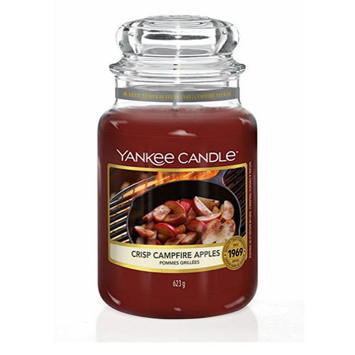 Yankee Candle - Crisp Campfire Apples Large Jar