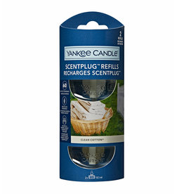 Yankee Candle - Clean Cotton 2-Pack Scentplug Refill