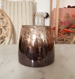 MELTED OMBRE TEALIGHT HOLDER