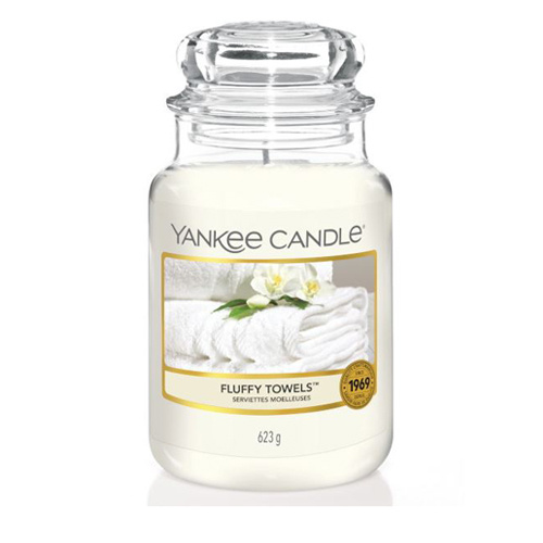 Yankee Candle - Fluffy Towels Large Jar