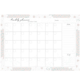MONTHLY PLANNER (A4)