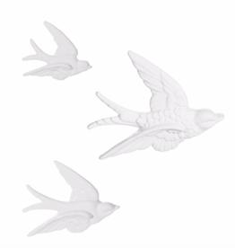 SWALLOW WALL DECO - SET VAN 3
